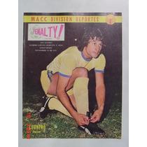 1975 Miguel A. Cornero Club America Aguilas Revista Penalty