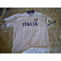 Camiseta Del Equipo De Italia Marca Play-star Italiana Grand