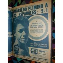 Mundial 1962 ; ¡scrap 58 Páginas Periódicos Esto&ovaciones!