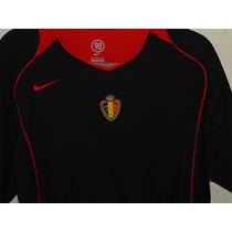 Playera De La Selección De Bélgica Vintage De Colección T L