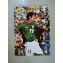 Sigifredo Mercado Seleccion Mexicana Bimbo Cards Mexico