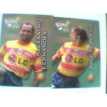 Bimbo Cards Morelia, Atlas, Santos Y Leon, Lote De 8