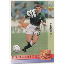 1993 Upper Deck Adams Roy Keane Novato En Español Usa