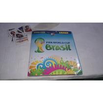 Álbum Mundial Brazil 2014 Llenó