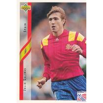 1994 Upper Deck World Cup Usa Julio Salinas Spain