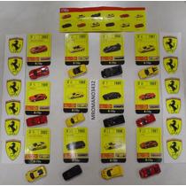 Panini Ferrari Coleccion Completa 12 Carritos Escala 1:100
