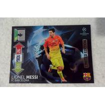 Tarjeta Panini Adrenalyn Lionel Messi Limited Edition 2013