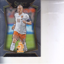 2015 Panini Select Soccer Base Wesley Sneijder Holland