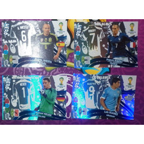 Tarjetas Adrenalyn Hero Panini Mundial Brasil 2014 Iniesta
