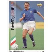 1993 Upper Deck Pietro Vierchowod Mundial Usa 1994 Italia