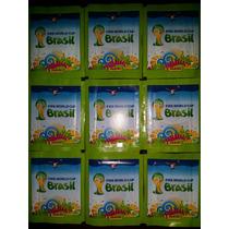 Sobres Mundial Brasil 2014 Verdes Importados