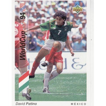 1993 Upper Deck David Patiño Mundial Usa 1994 Mexico
