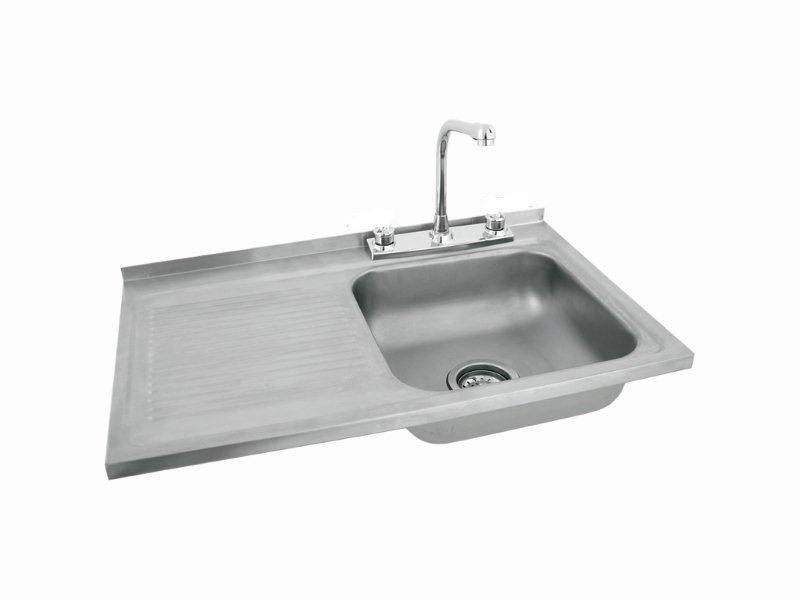 Gabinete fregadero con accesorios eb tecnica de 80 cm for Accesorios fregadero