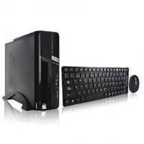 Gabinete Acteck Wksk-100 Kit Teclado Mouse Slim Matx +c+