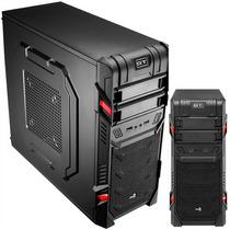 Gabinete Aerocool Gt Black Usb Ventilador Audio & Mic Gaming