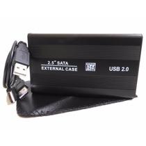 Case Gabinete Externo Usb 2.0 Sata 2.5 Disco Duro Laptop