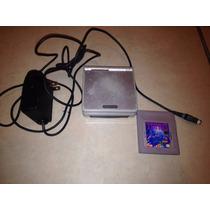 Nintendo Gameboy Sp Gris Cargador Tetris
