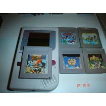 Game Boy Tabique Con 6 Juegos (mario,street,power,kid Icaru)