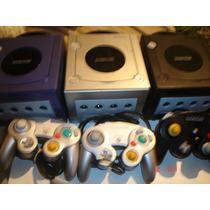 Nintendo Game Cube+1 Juego +control+audio Video+ad C+memoria