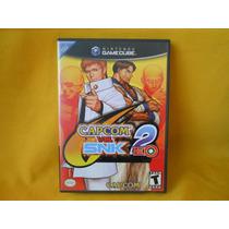 Capcom Vs Snk 2 Eo,game Cube,en Buen Estado