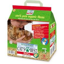 Lecho Natural Para Gato Cats Best (sustito De Arena) 10 Lts.