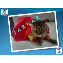 Disfraz De Supercat Para Gato / Gatita