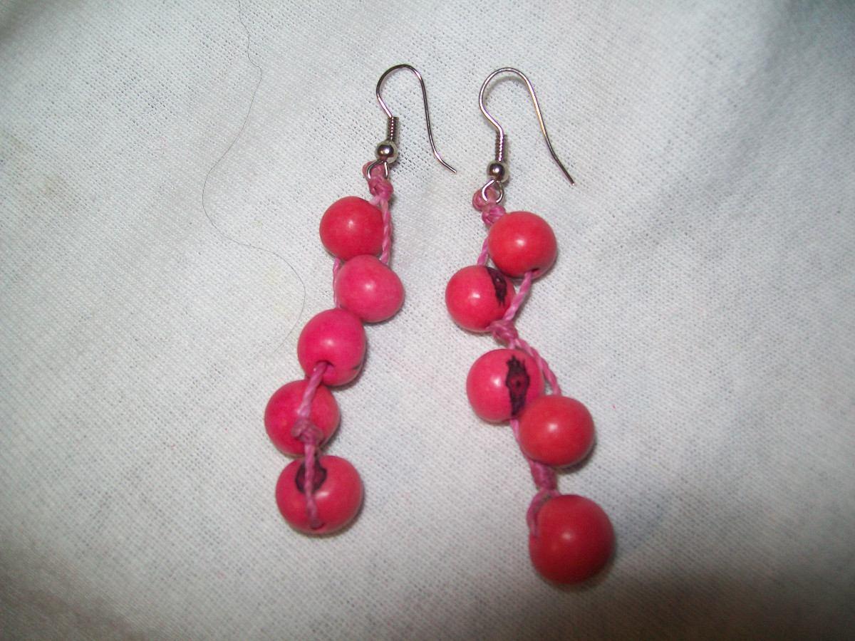 625a750703a2 gcg aretes de coco bolitas color rosa mexicano bfnAretes De Coco
