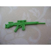 Gijoe 1992-93 Firefly V2 V3 Green Rifle