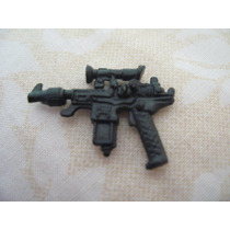 Gijoe 1987 Cobra Commander V3 Black Gun Pistol