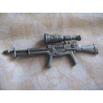Gijoe 2000 Gral Tomahawk 2002 Mirage V2 Silver Rifle W Scope