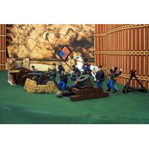 Ejercito Union Lote 3 Cañones C 13 Figura Esc 1/32 Custom
