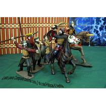 Lote D 8 Figura Tipo Medieval D Guerreros Arabes Esc 1/30