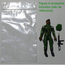 Gi Joe Lote 20 Bolsitas Cierre Ziploc, Star Wars Todas Figs