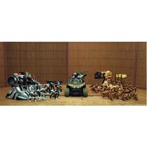 Lote Halo Warthog C 2 Base & 40 Fig Rumble Wars 1/32 Ve Anun