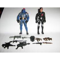Cobra Commander Y Baroness Con Armas $200