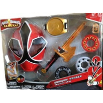 Power Ranger Samurai Samurai Guardabosques Training Gear