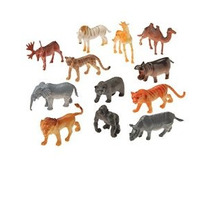 Figura Estadounidense Toy Mini Animales Salvajes Acción