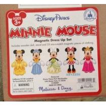 Parque Disney Minnie Mouse Vestido Magnética Hasta Set Nuevo