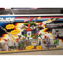 Gi Joe Cobra 1991 Headquarters Afa 85 Batle Corps Hasbro Op4