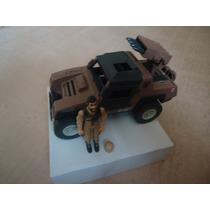 Vintage 1984 G.i. Joe Cobra Vamp Mark Ii Jeep Vehicle W Fig