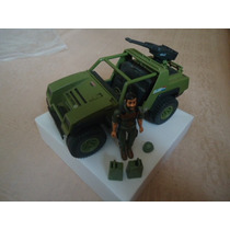 Vintage 1982 G.i. Joe Cobra Vamp Jeep W Clutch Figure