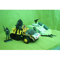 Lee Anunc Lote Vehiculos Snow Cat & Cobra Wolf Sin Figura