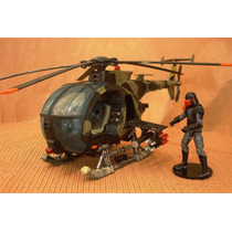 Lee Anuncio X Helicoptero Little Bird Custom P Figuras 1/18