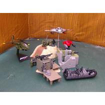 Lee Anunc X Lote 3 Diorama C 5 Vehiculo & 17 Figura Esc 1/55