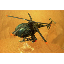 Lee Anuncio X Helicoptero Little Bird Custom P Figuras 1/18