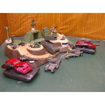 Lee Anunc X Lote Diorama Fortaleza C 5 Vehiculo & 9 Fig 1/55