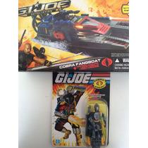 Lote Gijoe Cobra Fangboat Y Cobra Bat - Nuevos