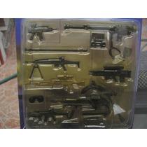 Set De Armas Gi-joe Bbi Usa Army Deset Militar 1/18