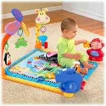 Gimnasio Tapete Musical Fisher Price Con 10 Actividades