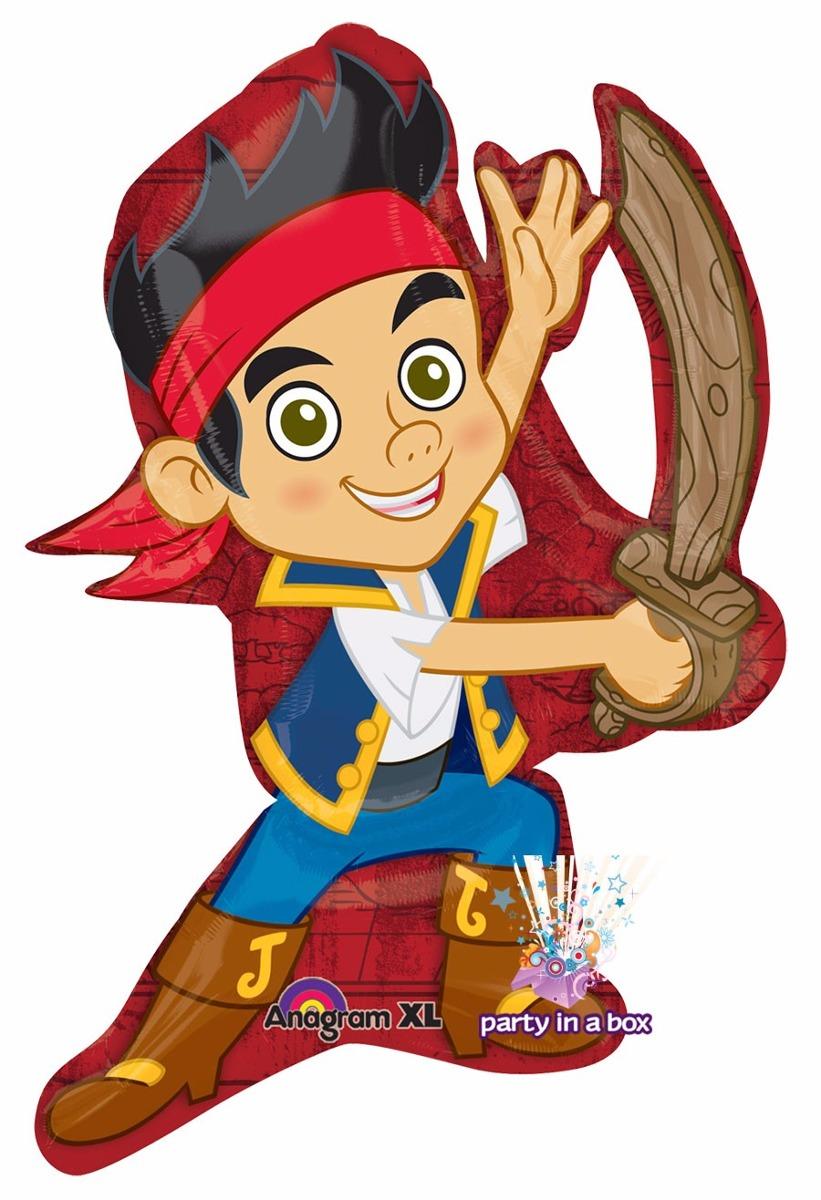 Invitaciones de cumpleaños de jake y los piratas de nunca